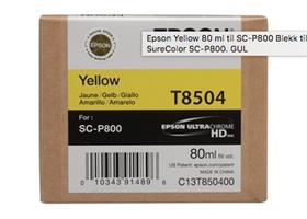 EPSON Yellow 80 ml til SC-P800