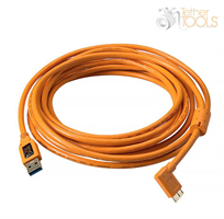 TetherPro USB 3.0 Micro-B 5 pin Right Angle