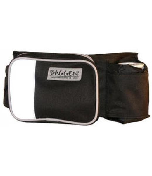 Baggen rompetaske softbelt svart/reflex