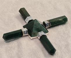 Energigenerator Grön 4-armad ca 9cm
