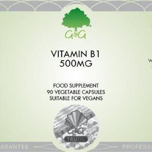 B1 Tiamin 500 mg