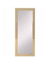 Queens spegel 180x55 cm i mässing