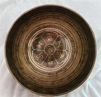 Klangskål Gravyr 14,5 cm
