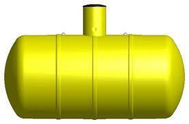 Sméplast sluten tank R1-12000