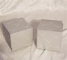 Silver kartong 8x8x7,5cm