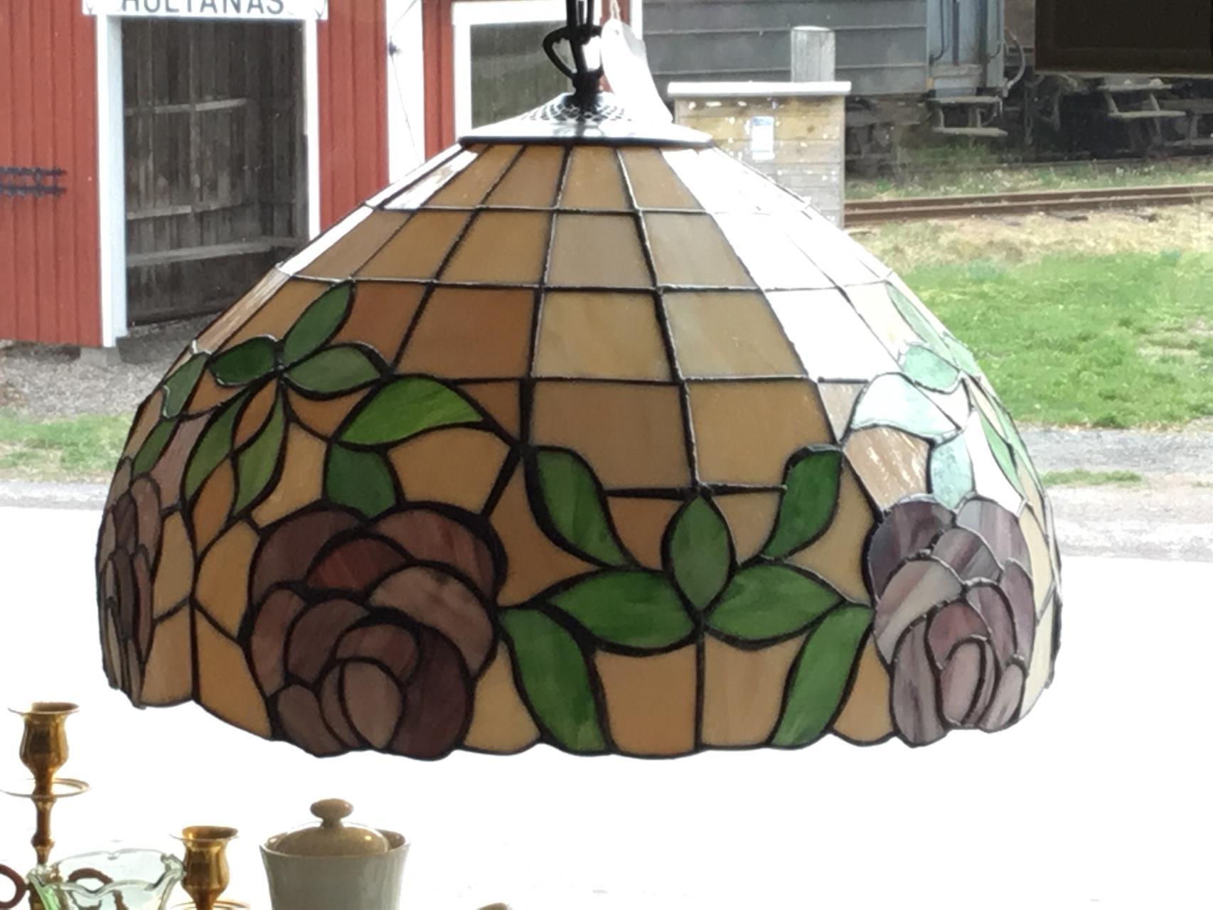 Tiffanystil lampa
