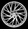 GMP ENIGMA 18x8.0 Satin Silver