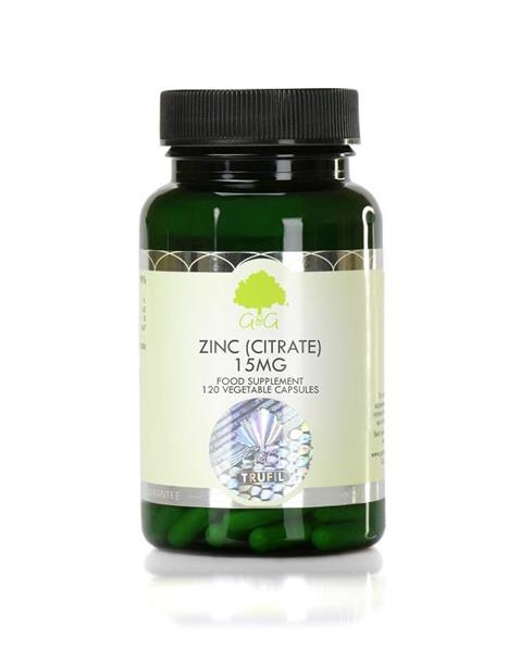 Zink (Citrate) 15 mg