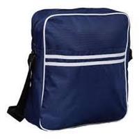 Yada Dada Urban Gear-Retro Messenger Bag (Blå)