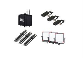 SWIT PL-E60D 3KIT 3xPL-E60D + Case and stands