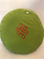 Meditationskudde grön