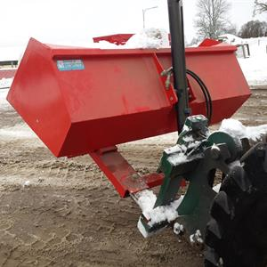 Truck snöskopa hydraulisk