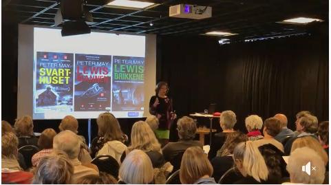 Liv Gade presenterer May og Engbergs bøker