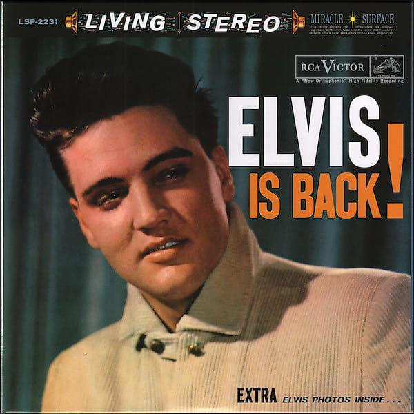 ELVIS PRESLEY-Elvis is Back(Analogue Productions)