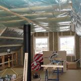 Inredning/målning övervåning villa 1