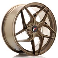JR Wheels JR34 18x9 ET20-42 5H BLANK Platinum Bron