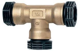 PRK TA 410 T-rörskoppling 50mm