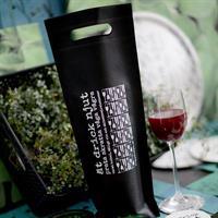 Flaskpåse till gå-bort-vinet från Erika Tubbin