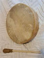 Shamantrumma getskinn  ca 41 cm