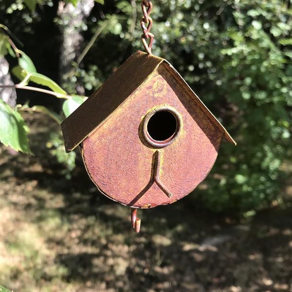 Talgbollshållare fågelholk mod 3