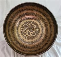 Klangskål Gravyr 30,5 cm