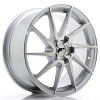JR Wheels JR36 20x10 ET20-45 5H BLANK Silver Brush