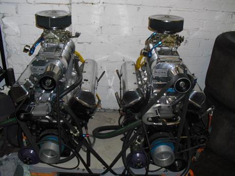 2 st 496 full race motorer