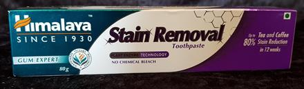 Himalaya Stain Removal Toothpaste Flourfri 80 gr