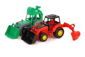 Traktorgrävare 27cm 12M+