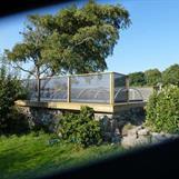 Elegant skydd, svart 90% vindreduktionsfaktor