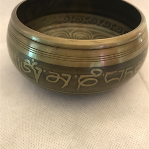 Sjungande skål Buddhor ca 12x6 cm