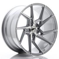 JR Wheels JR33 20x10 ET20-40 5H BLANK Silver Machi
