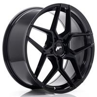 JR Wheels JR34 20x10 ET20-40 5H BLANK Gloss Black
