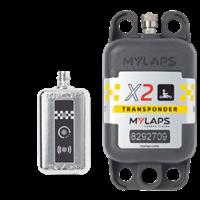 Transponder Mylaps X2 2Års Pakke, Oppladbar