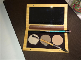 Make-up Palett Bambu Ögonbryn med borste