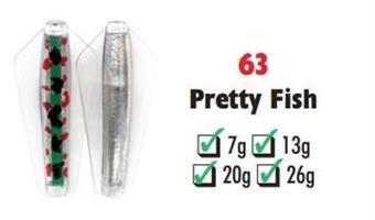 Tasmanian Devil Pretty Fish #63 26 gram