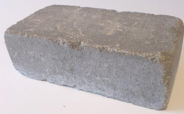 Mosaiken marksten Tumlade Block 420x210x140 mm Naturgrå