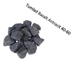 Tumlad Dekorsten Basalt Antracit 20 kg 40-60 mm