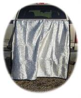 Silver Mesh Duk 10x14