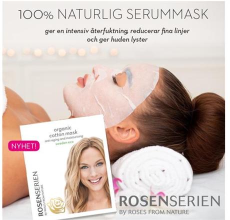 Nyhet! Organic Cotton Mask - anti-aging  och moisturising