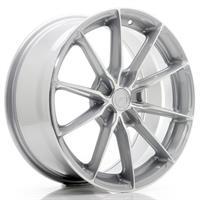 JR Wheels JR37 17x8 ET20-40 5H BLANK Silver Machin