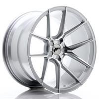 JR Wheels JR30 19x8,5 ET20-42 5H BLANK Silver Mach