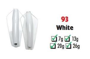 Tasmanian Devil White #93 26 gram