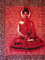Buddha dubbel röd