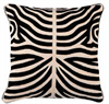 Kudde Zebra Svart