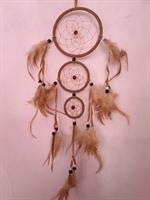 Drömfångare trippel ljusbrun 11 + 7+ 5 cm