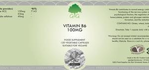 B6 Pyridoxin 100 mg