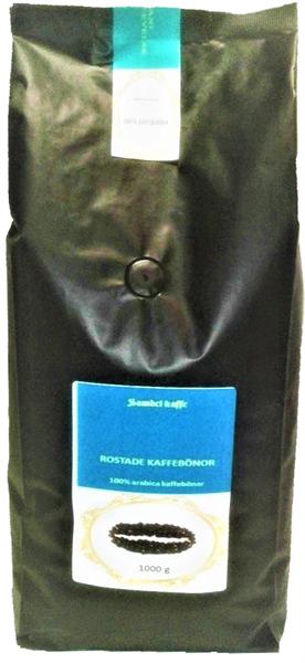 Rostade kaffebönor Mellanrostat, Yirgaceffe 1000g