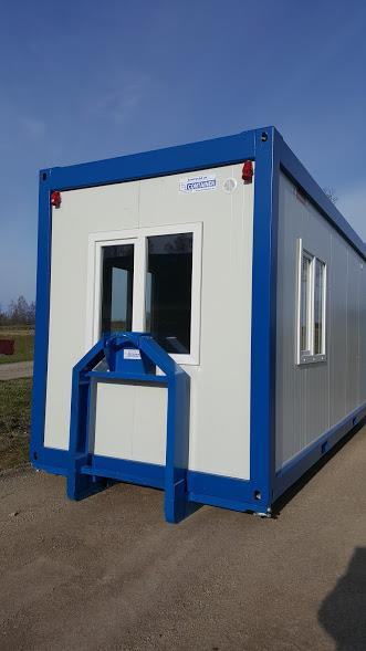 Kontorscontainer på Isoram