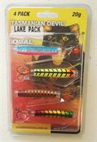 Tasmanian Devil sluksett Lake Pack 20g 4pk